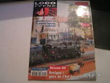**a Loco Revue n°652 BB 407206 Fret Roco en H0 / La 0-350 TA 911 en HO de Piko