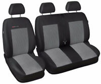 Renault Trafic  Tailored seat covers 2 + 1 grey2 2001 - 2014