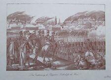 Die Erstürmung des Gloggnitzer Bahnhofes bei Wien 1848 FRANZ WERNER Faksimile