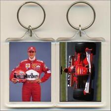 F1 Champions. 2001 Michael Schumacher. Keyring / Bag Tag.