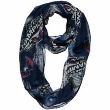 Washington Capitals Women's Navy 2018 Stanley Cup Champions Logo Infinity Scarf