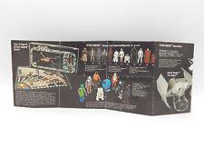 Kenner STAR WARS Vintage Mini Prospekt Booklet Heft Flyer #P29 deutsch PROTOTYPE