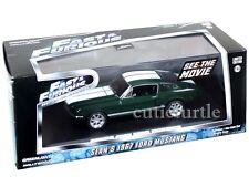Greenlight Fast & Furious Tokyo Drift Sean's 1967 Ford Mustang 1:43 86211 Green