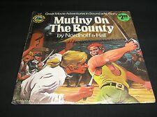 Spoken Word LP: MUTINY ON THE BOUNTY  (MINT)  1973  Wonderland Golden Records