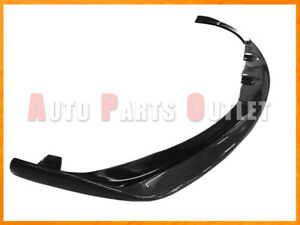L Style Carbon Fiber Front Add-on Bumper Spoiler Lip For 06-13 LEXUS IS F Only