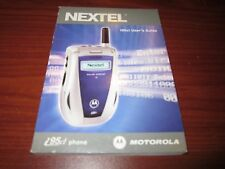Nextel i95 User's Guide - Manual