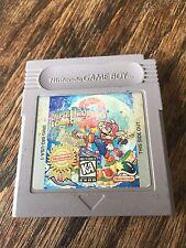¤ Super Mario Land 2 6 Golden Coins ¤ (Game Cart) Good Game Boy GBA