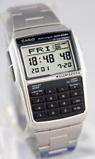 Casio DBC-32D-1A Steel Databank Watch Calculator Illuminator 25 Page BRAND NEW