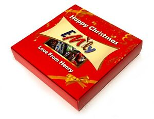 Personalised Celebrations Chocolates Box - Any Message - Any Occasion!