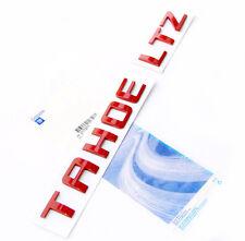 2pcs LTZ Letter Nameplate Emblem Badge 2008-2015 Chevrolet Cruze Silverado CH