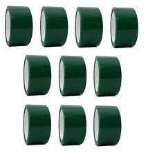 "2"" x 55 yd Green 10 Rolls Packaging Packing Tape Carton Sealing - Free Shipping"