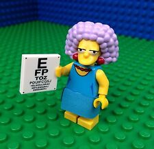 Lego 71009 The Simpsons Series 2 SELMA BOUVIER Eye Chart Minifig Minifigure