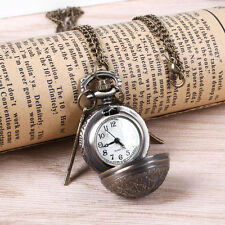 Superior Pocket Watch Vintage Golden Snitch Clock Best Gift to Harry Potter Fans