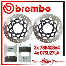 Dischi Freno Anteriore BREMBO + Pastiglie LA SUZUKI GSX-R 1000 2007 07 2008 08
