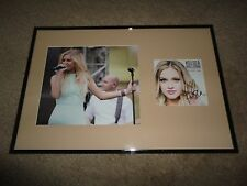 "KELSEA BALLERINI SIGNED FRAMED ""THE FIRST TIME"" CD COUNTRY COA PHOTO DIBS"