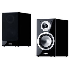 CANTON CHRONO SL520 BLACK HIGH GLOSS BOOKSHELF SPEAKERS PAIR - FULL WARRANTY