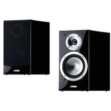 Canton Chrono SL520 schwarz Hochglanz Regal Lautsprecher Paar-volle Garantie