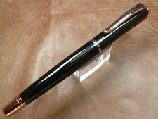 Monteverde Impressa Fountain Pen Black/Gold Trim Medium Nib