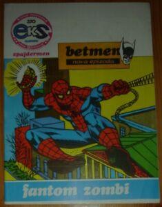 Spider-Man Newspaper Strips / Eks almanah 370 / Yugoslavia 1983 / Batman