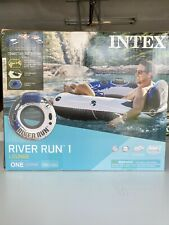 Intex River Run 1 Person Inflatable Floating Water Tube Raft ➡FREE SAME DAY SHIP
