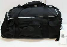 Kipling Small Carry-On Rolling Luggage Duffel Bag WL4777 Black