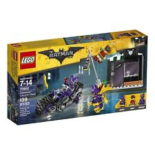 LEGO Batman Movie Catwoman Catcycle Chase 70902 Batgirl Robin Minifigure Bike