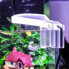 5W Waterproof Clip 8LED Aquarium Light Fish Tank Aquatic Plant Grow Lamp EU Plug