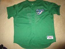 Tony Phillips #47 Toronto Blue Jays MLB Green Irish Majestic Jersey 2XL 2X