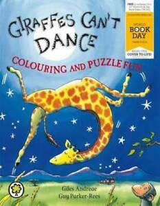 Giraffes Can't Dance Colouring and Puzzle Fun by Guy Parker-Rees (Paperback)