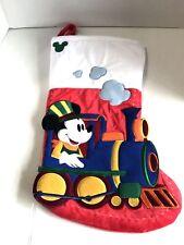 Disney Parks Pluto Stitch Mickey Minnie Chip N Dale Christmas Holiday Stocking