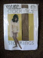 Vintage Thigh High Stockings