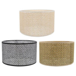 Rattan Light Covers Hanging Handwoven Natural Durable Light Ceiling Lamp Concise
