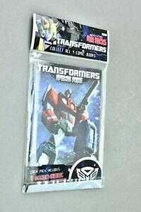 Transformers Fun Packs Micro-Comic IDW Optimus