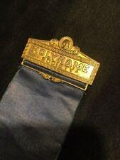 Vintage Catholic Badge  - Holy Name Society