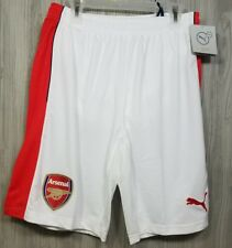 Puma Arsenal Gunners 16/17 Soccer Shorts Men's Sz Small New with Tags 45$ MSRP