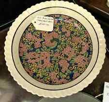 vintage old royal doulton cake/fruit bowl/dish with floral design pattern