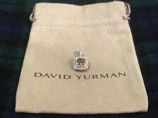 NEW DAVID YURMAN PETITE ALBION PENDANT WITH MORGANITE & DIAMONDS (retail $550)