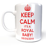 Prince Harry and Meghan Markle Royal BABY B KEEP CALM MUG HRH NEWS souvenir