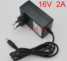 AC Adapter DC 16V 2A Switching power supply Charger EU plug 5.5mm 32W 2000mA