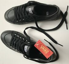 VANS Sneakers Girls pelle leather nero black 38.5