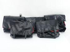 Bicycle Saddlebag large underseat bag seat bag saddle Vintage Bike NOS x 5