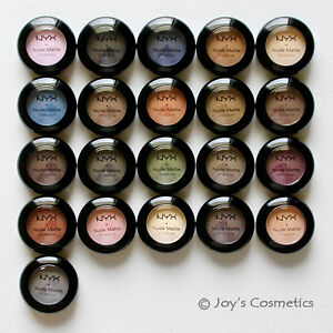 """3 NYX Nude Matte Shadow - NMS """"Pick Your 3 Color"""" Joy's cosmetics"""