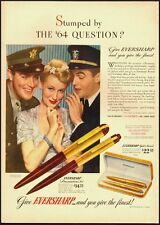 1942 Vintage ad for EVERSHARP Pens/WWII Era /40's Fashion (022113)