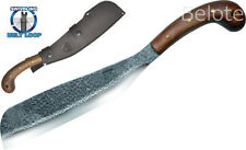 "Condor TOOL & KNIFE 18"" VILLAGE PARANG Machete W/ Leather Sheath 60948 NEW"