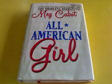 MEG CABOT: ALL AMERICAN GIRL HB/DJ  *MC*