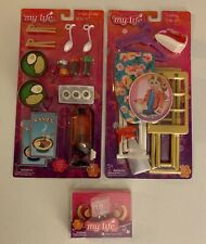 My Life As: Accessories Lot - Hearing Aids Ramen Dinner, & Ironing Play Set: New