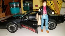 Vintage 1983 Knight Rider 2000 Kitt Car With Michael Knight Figure not working