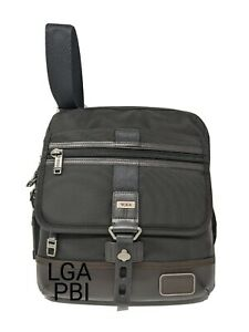 New Tumi Alpha Bravo Annapolis Zip Flap Crossbody Bag * Hickory * 222304HK2