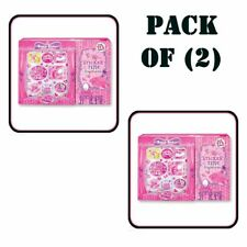 Pack of (2) New Hot Focus - Princess Sticker Time Books Kids Toy #65P383Pr
