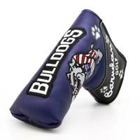Animal Putter Cover Headcover Golf Club Head Cover Magnetic Bulldog for Scotty
